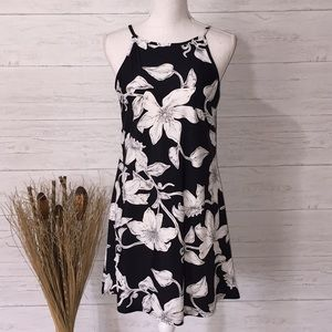 Aryeh Black and White A-line Dress - S